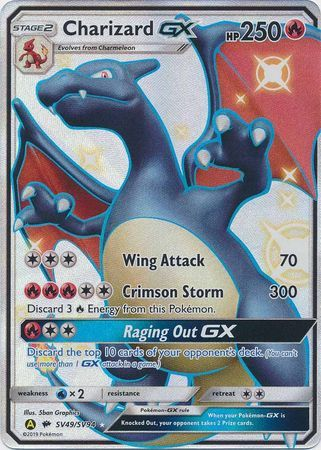 Charizard GX - SV49/SV94 - Full Art Ultra Rare