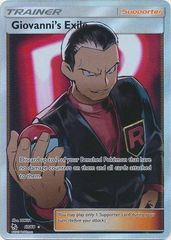 Giovanni's Exile - 67/68 - Full Art Ultra Rare