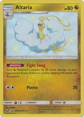 Altaria - SV37/SV94 - Shiny Holo Rare on Channel Fireball
