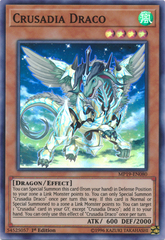 Crusadia Draco - MP19-EN080 - Super Rare - 1st Edition