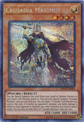 Crusadia Maximus - MP19-EN081 - Prismatic Secret Rare - 1st Edition