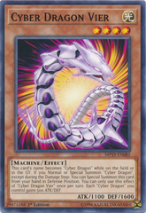 Cyber Dragon Vier - MP19-EN085 - Common - 1st Edition
