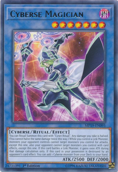 Cyberse Magician - MP19-EN095 - Rare - 1st Edition