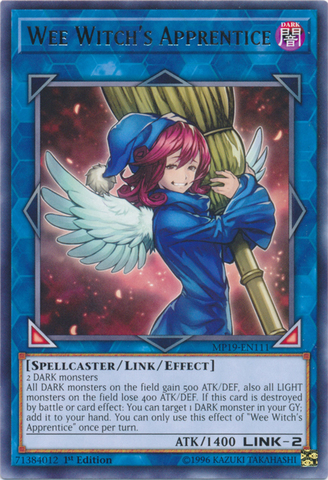 Wee Witch's Apprentice - MP19-EN111 - Rare - 1st Edition