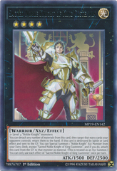Sacred Noble Knight of King Custennin - MP19-EN142 - Rare - 1st Edition