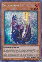 Salamangreat Foxy - MP19-EN154 - Prismatic Secret Rare - 1st Edition