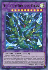Thunder Dragon Titan - MP19-EN182 - Ultra Rare - 1st Edition