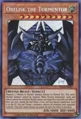 Obelisk the Tormentor (alternate art) - TN19-EN007 - Prismatic Secret Rare - Limited Edition