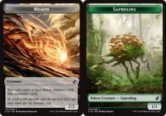 Morph Token // Saproling Token