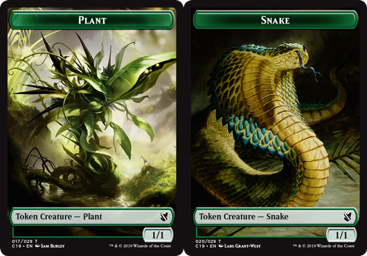 Plant Token // Snake Token