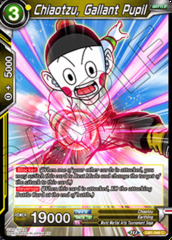 Chiaotzu, Gallant Pupil - DB1-069 - C - Foil on Channel Fireball