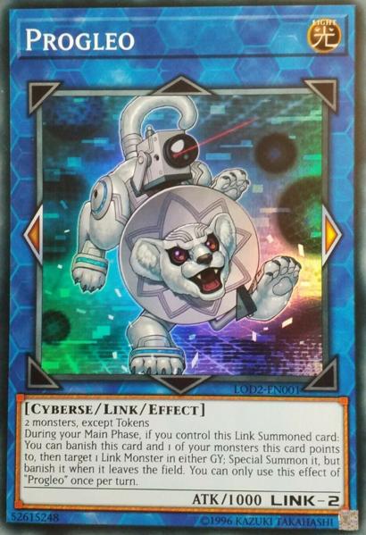 Progleo - LOD2-EN001 - Super Rare - Unlimited