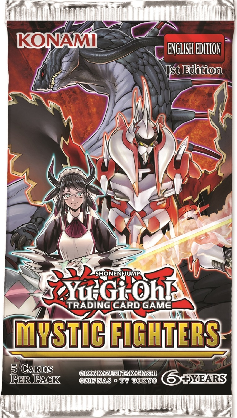 Mystic Fighters 1st Edition Booster Pack