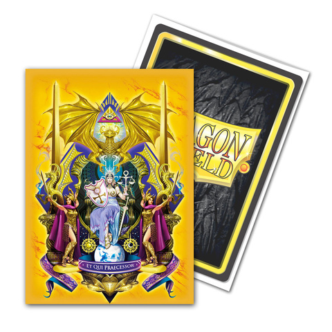 Dragon Shield Sleeves: Matte Art Queen Athromark: Coat-of-Arms (Box of 100)