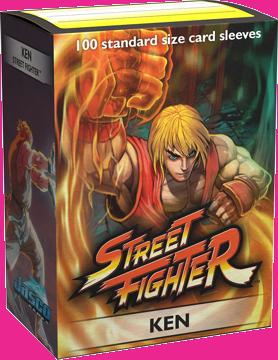 Dragon Shield Sleeves: Art Classic Street Fighter Ken (100 Standard Size)