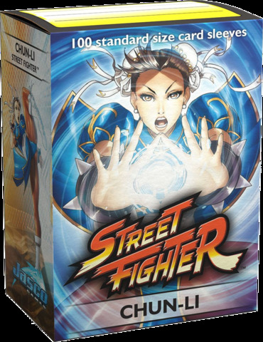 Dragon Shield Sleeves: Art Classic - Street Fighter: Chun Li (Box of 100)