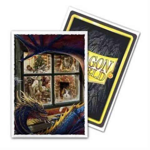 Dragon Shield Sleeves: Christmas Dragon (Box of 100)