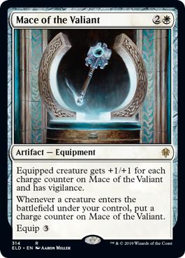 Mace of the Valiant - Brawl Deck Exclusive