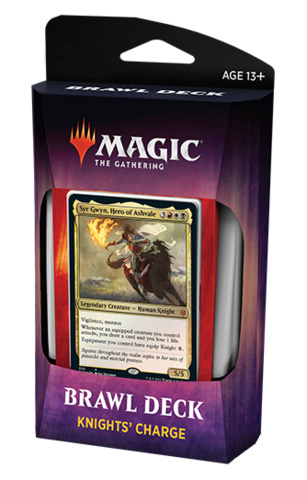 Throne of Eldraine Brawl Deck - Knights Charge