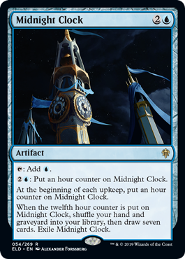 Midnight Clock - Foil