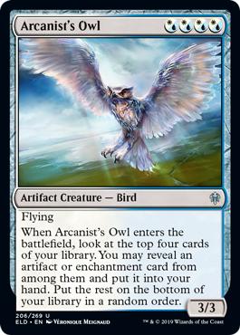 Arcanists Owl - Foil