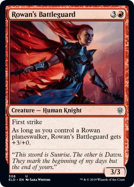 Rowans Battleguard - Planeswalker Deck Exclusive
