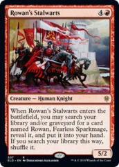 Rowan's Stalwarts - Planeswalker Deck Exclusive