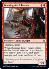 Burning-Yard Trainer - Foil