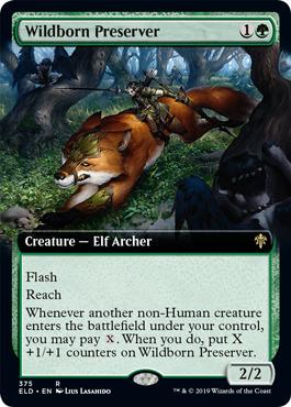 Wildborn Preserver - Extended Art
