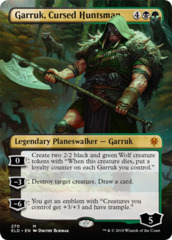 Garruk, Cursed Huntsman (Alternate Art) - Foil (ELD)