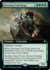 Feasting Troll King (Extended Art) - Foil