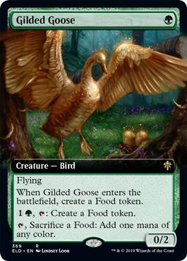 Gilded Goose - Foil - Extended Art
