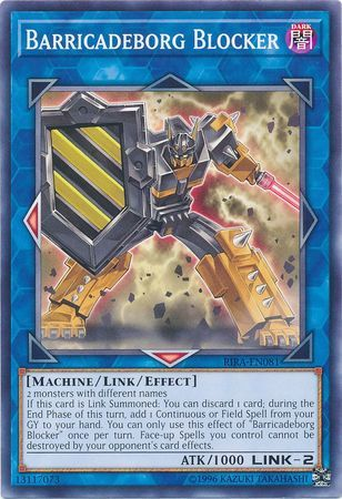 Barricadeborg Blocker - RIRA-EN081 - Common - Unlimited Edition