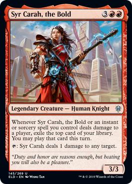Syr Carah, the Bold - Foil