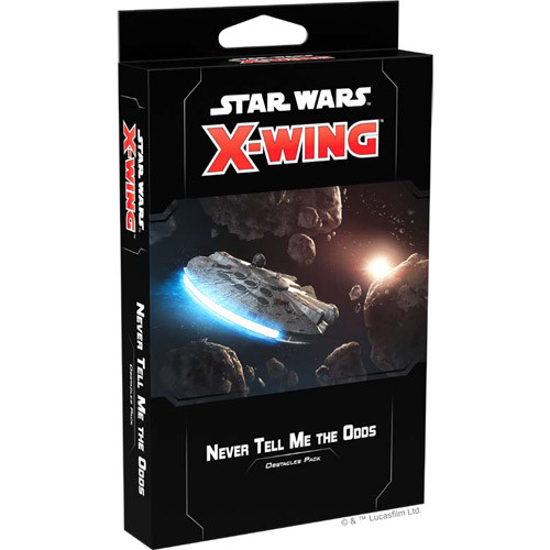 Star Wars X-Wing - 2nd Edition - Never Tell Me the Odds Obstacles Pack
