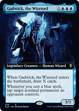 Gadwick, the Wizened - Foil - Extended Art