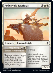 Ardenvale Tactician // Dizzying Swoop - Foil