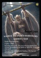 Kalibur, the Sacred Shardsword Full Art