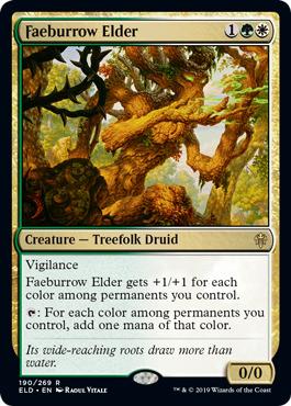 Faeburrow Elder - Foil