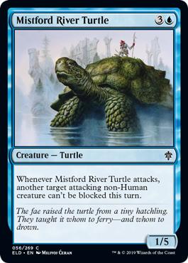 Mistford River Turtle - Foil