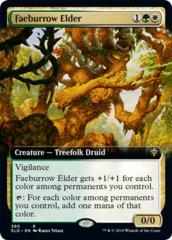 Faeburrow Elder (Extended Art) - Foil