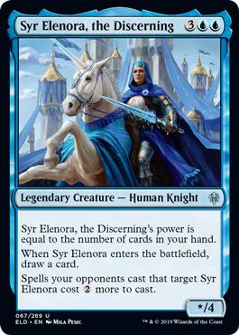 Syr Elenora, the Discerning - Foil