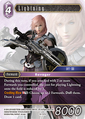 Lightning - 10-137S - Starter Deck Exclusive
