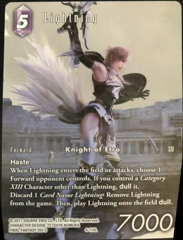 Lightning - 4-115L - Full Art - Starter Deck Exclusive