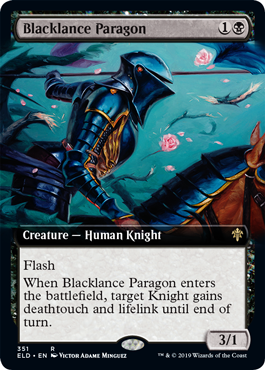 Blacklance Paragon - Extended Art