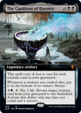 The Cauldron of Eternity - Extended Art