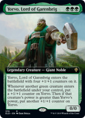 Yorvo, Lord of Garenbrig - Foil - Extended Art