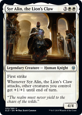 Syr Alin, the Lions Claw