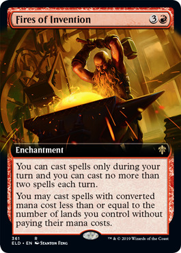 Fires of Invention - Foil - Extended Art