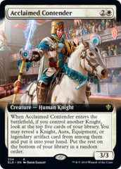 Acclaimed Contender (Extended Art)